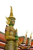 Riesige Statue von Wat Phra kaew lizenzfreies stockfoto