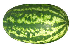 riesige Wassermelone Stockfotos