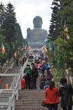 Riesiger Buddha Lizenzfreies Stockbild