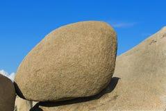 Riesiger Felsen in Joshua Tree National Park Lizenzfreie Stockbilder