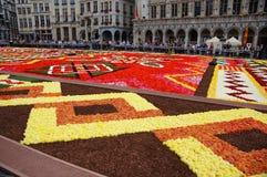Riesiger frische Blumen-Teppich Lizenzfreie Stockbilder