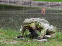 Riesiger Frosch Lizenzfreies Stockfoto