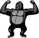 Riesiger Gorilla Stockfoto