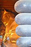 Riesiger stützender Buddha Stockbild