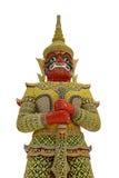 Riesiger Wächter in Thailand Lizenzfreies Stockfoto