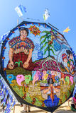 Riesiges Drachenfestival, der Allerheiligen, Guatemala Lizenzfreies Stockbild