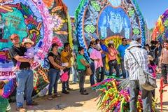 Riesiges Drachenfestival, der Allerheiligen, Guatemala Stockbilder