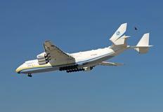 Riesiges Flugzeug An-225 am MiamiInternational Lizenzfreie Stockfotos
