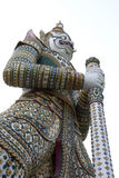 Riesiges Guardian_Wat Arun stockfoto