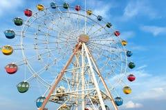 Riesiges Riesenrad Stockfoto