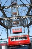 Riesiges Riesenrad innen Wien Stockfotografie