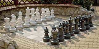 Riesiges Schach Stockbilder