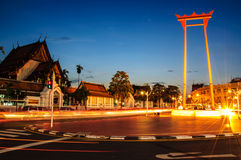 Riesiges Schwingen in Bangkok Lizenzfreies Stockbild