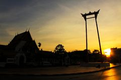 Riesiges Schwingen, Bangkok, Thailand Lizenzfreie Stockfotografie