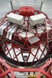 Riesiges spanisches Teleskop GTC 10 Meter Spiegeldurchmesser, in Observatorium Roque de Los Muchachos, La Palma, Kanarische Insel Lizenzfreie Stockfotos