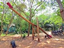 riesiges ständiges Schwanken in Auroville stockbilder