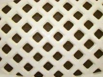 Rieten die ventilatietraliewerk van keramiekband wordt gemaakt Royalty-vrije Stock Foto's