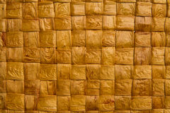 Rieten houten achtergrond Royalty-vrije Stock Foto's
