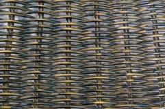 Rieten mandewerkpatroon Stock Afbeelding