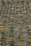 Rieten mandewerkpatroon Royalty-vrije Stock Foto