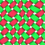 Rieten naadloze textuur stock illustratie