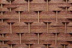 Rieten textuur Stock Foto's