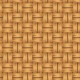 Rieten textuur Vector naadloze achtergrond Royalty-vrije Stock Fotografie