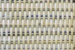Rieten textuurachtergrond detail van weefsel naadloze textuur Royalty-vrije Stock Foto