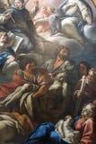Rieti (Itália), interior da catedral Imagem de Stock Royalty Free