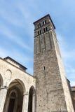 Rieti (Italië), kathedraal Stock Foto