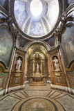 Rieti (Italië), kathedraalbinnenland Royalty-vrije Stock Fotografie