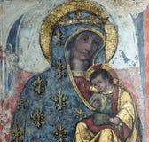 Rieti (Italië), kathedraalbinnenland Stock Afbeelding
