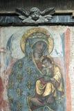 Rieti (Italia), interior de la catedral Foto de archivo libre de regalías