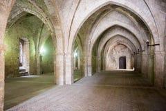 Rieti (Italia), palacio de los papas Imágenes de archivo libres de regalías
