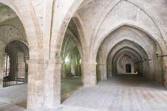 Rieti (Italia), palacio de los papas Imagenes de archivo