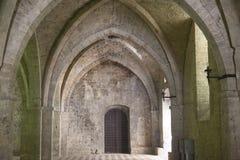 Rieti (Italy), Palace of the Popes Royalty Free Stock Photos