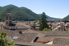 Rieti (Lazio, Italy) - Roofs Stock Photos