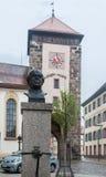 Riettor Clock Tower Villingen-Schwenningen Germa Royalty Free Stock Photos