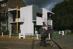 Rietveld房子在乌得勒支 库存图片