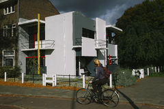 The Rietveld house in Utrecht Stock Images