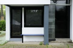 Rietveld schroderhaus, entrance detail Stock Photo