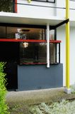 Rietveld schroderhaus, studio window Stock Photography
