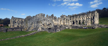 Rievaulx Abbey Royaltyfria Foton