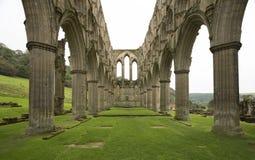 Rievaulx Abbey Archway Ruins Lizenzfreies Stockbild