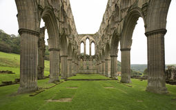 Rievaulx Abbey Archway Ruins Royalty Free Stock Image