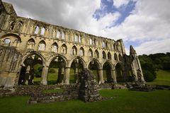 Rievaulx Abbey Royalty Free Stock Photos