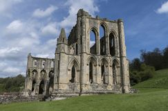 Rievaulx-Abtei, North Yorkshire macht, North Yorkshire, England fest Stockfoto