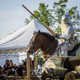Rievocandum2015 Cavalieri Arkivbild