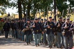 Rievocazione del campo di battaglia di Perryville Fotografie Stock Libere da Diritti