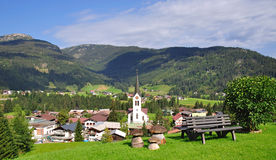 Riezlern,Kleinwalsertal Stock Photo